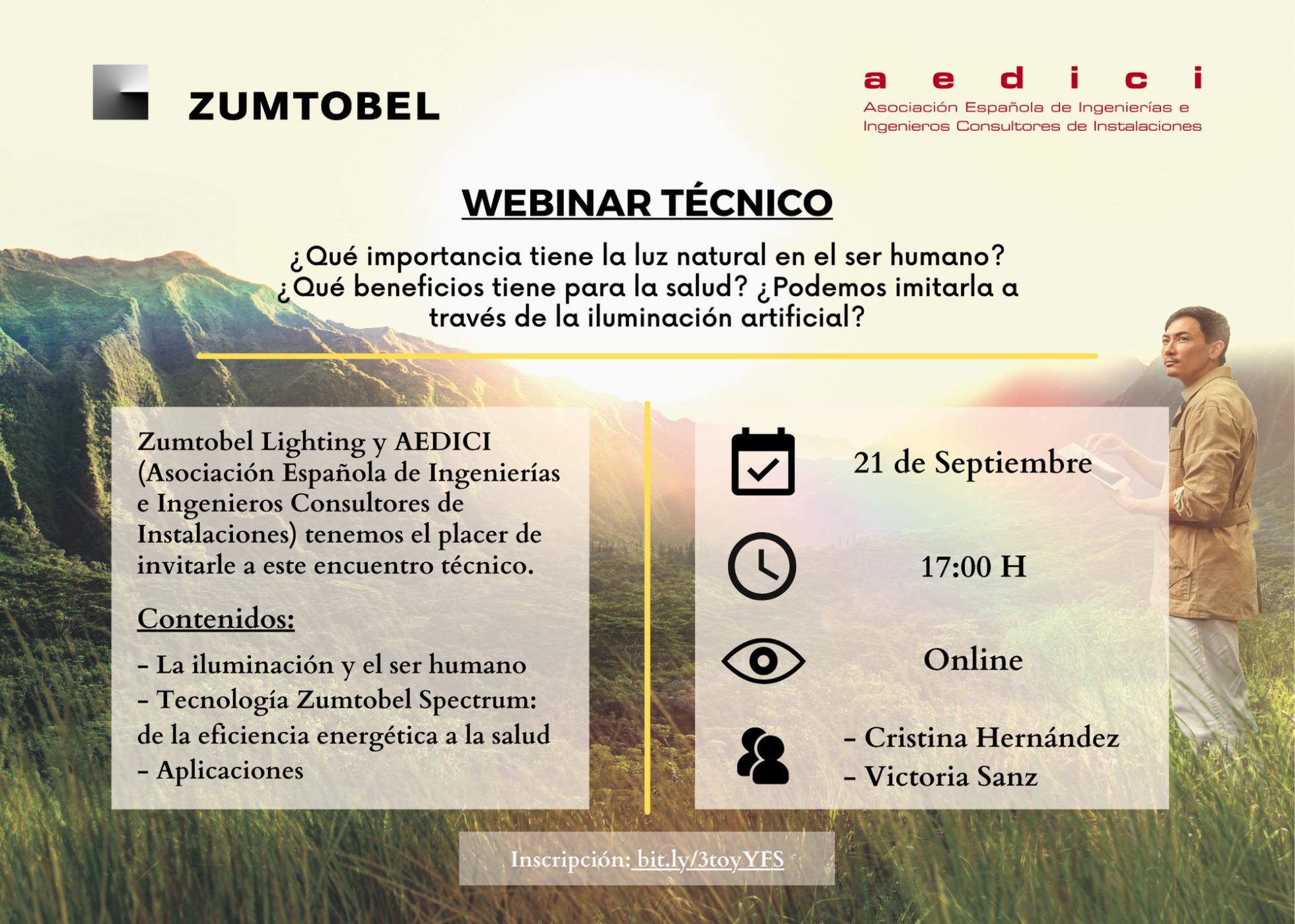 Invitación Evento Zumtobel
